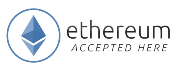 Ethereum accepted here!
