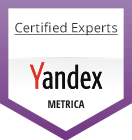 Yandex Metrica Certified Experts